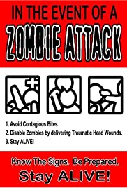In the Event of a Zombie Attack Poster