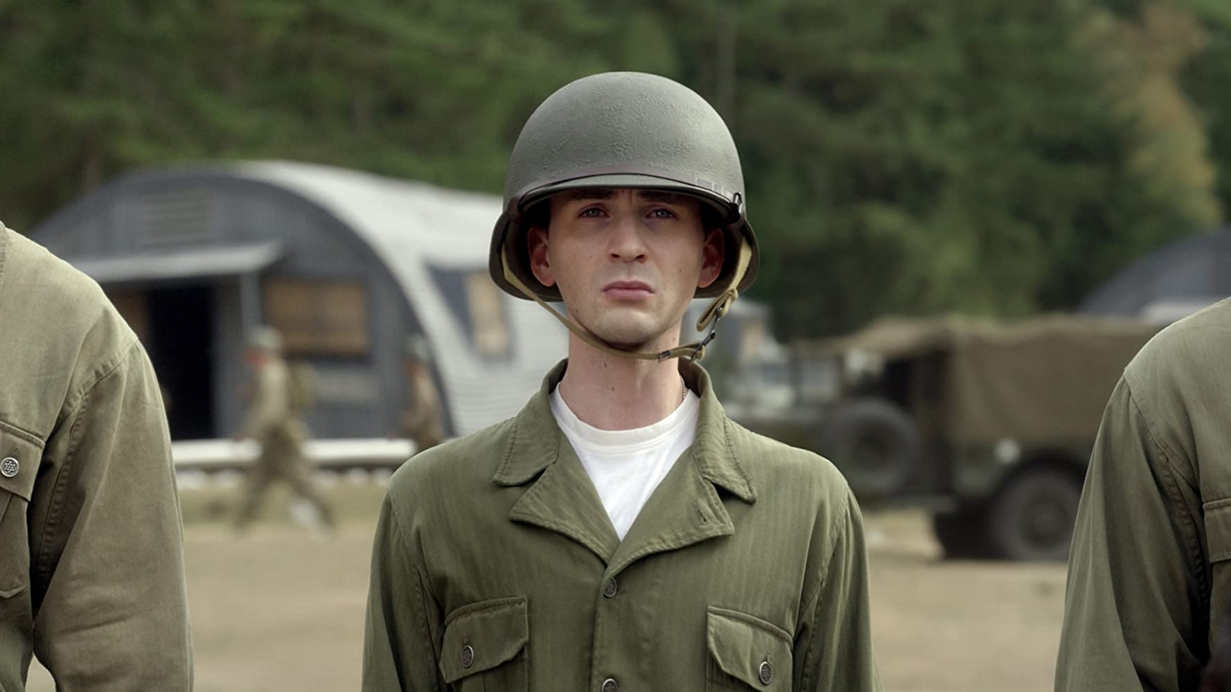 Chris Evans in Captain America The First Avenger 2011