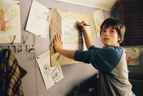 Josh Hutcherson in Bridge to Terabithia (2007)