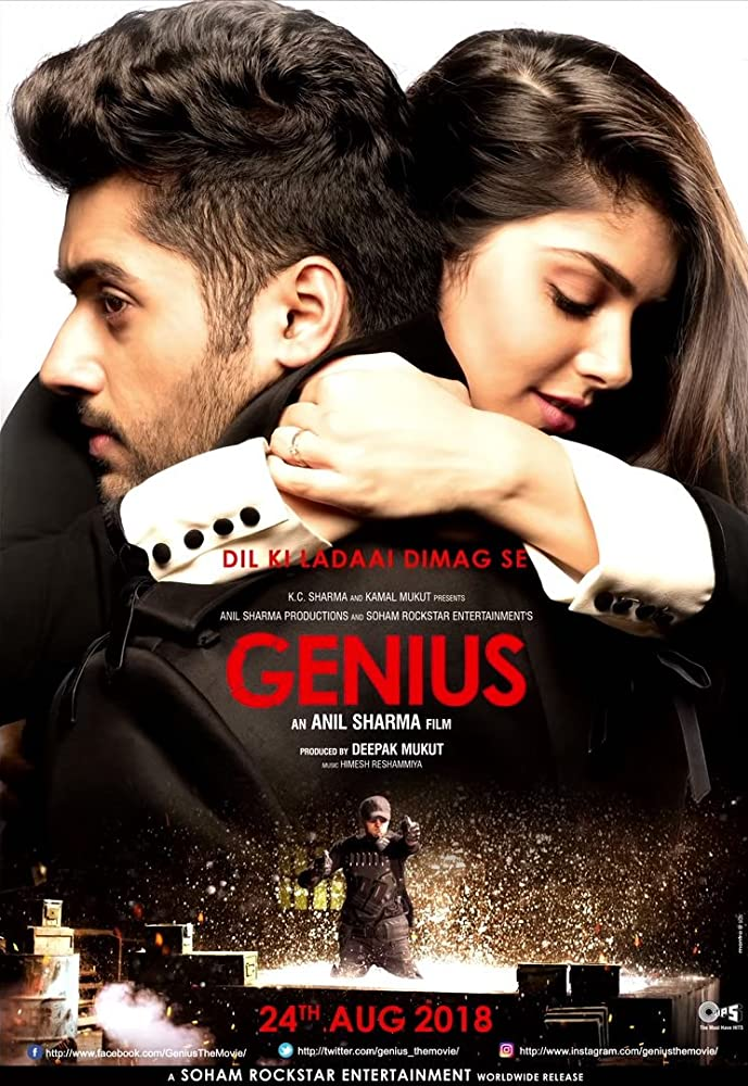 Genius (2018) Hindi Pre-DVDRip x264 700MB