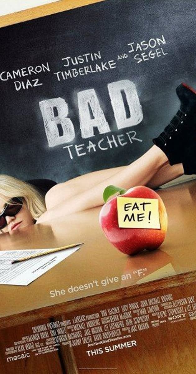 Bad Teacher 2011 (BluRay) - New Hollywood Dubbed Movies