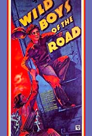 Dorothy Coonan Wellman and Frankie Darro in Wild Boys of the Road (1933)