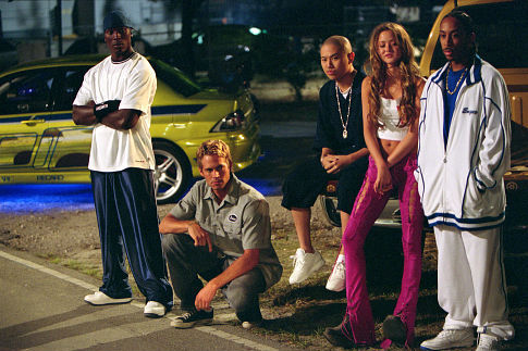 Ludacris, Tyrese Gibson, Paul Walker, Devon Aoki, and Jin Au-Yeung in 2 Fast 2 Furious (2003)