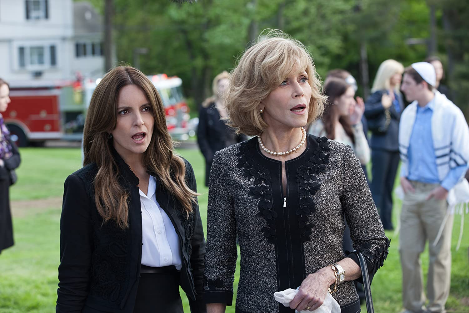 Jane Fonda and Tina Fey in This Is Where I Leave You (2014)