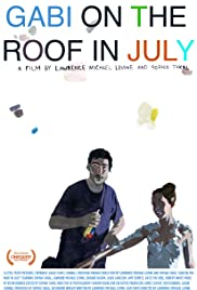 Gabi on the Roof in July Poster