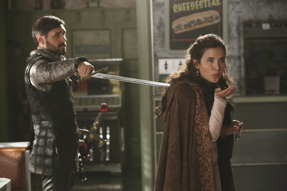Liam Garrigan and Joana Metrass in Once Upon a Time (2011)