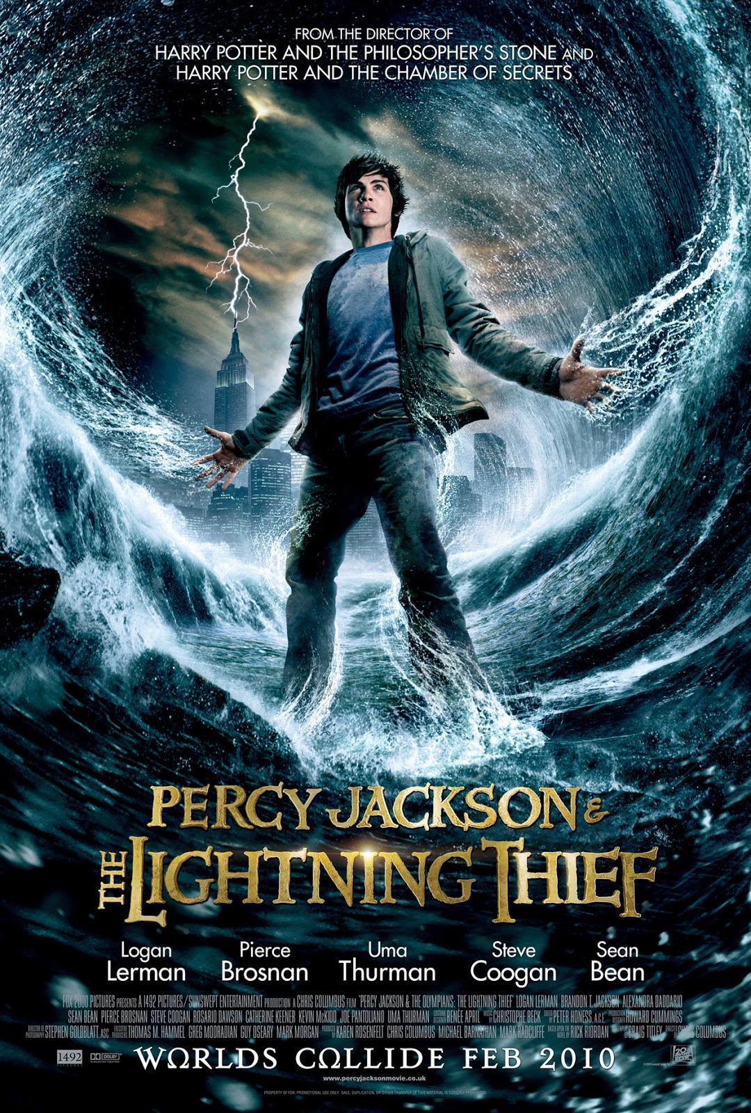 Image result for percy jackson and the lightning thief movie