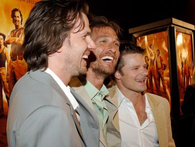 Matthew McConaughey, Steve Zahn, and Breck Eisner at an event for Sahara (2005)