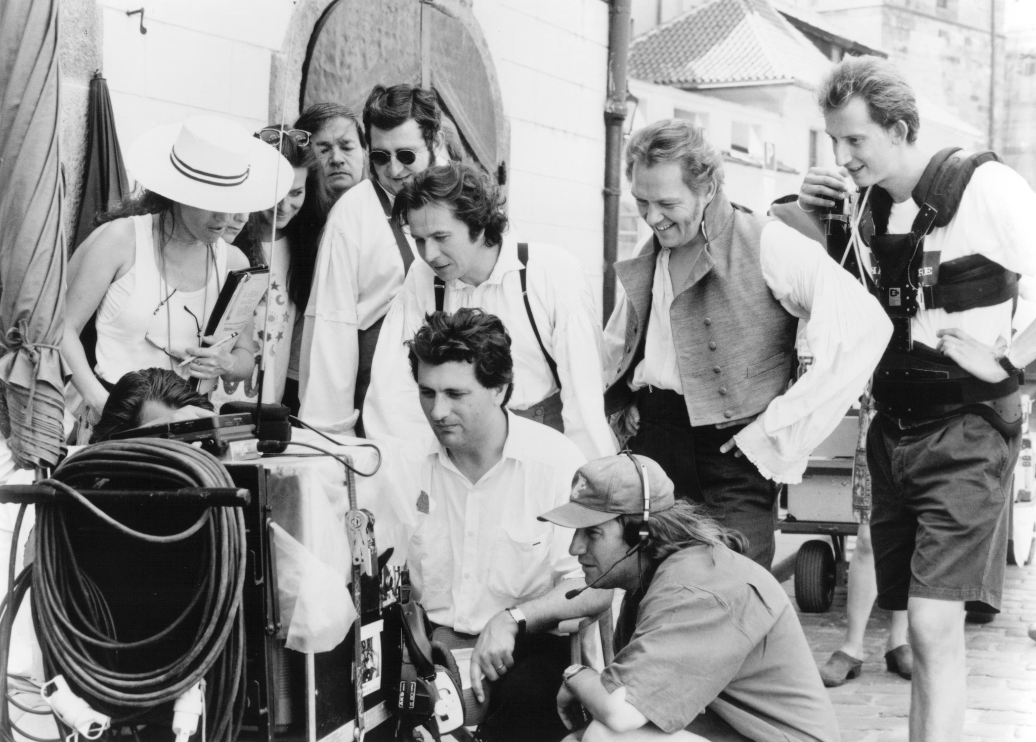 Gary Oldman, Christopher Fulford, Gerard Horan, and Bernard Rose in Immortal Beloved (1994)