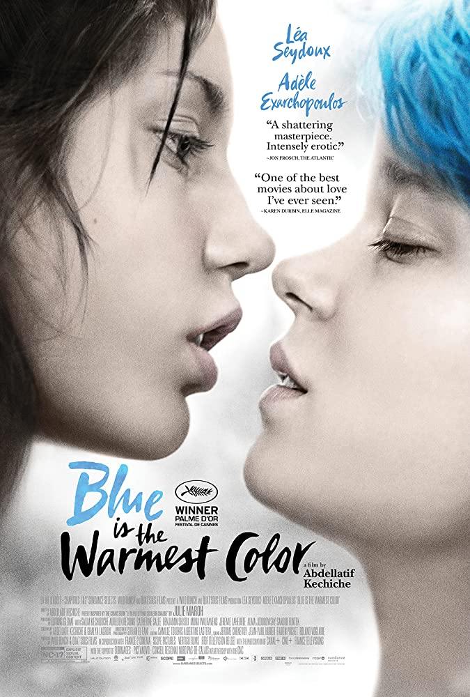 18+ Blue Is The Warmest Color 2013 English Hot Movie 480p BluRay 500MB x264 AAC