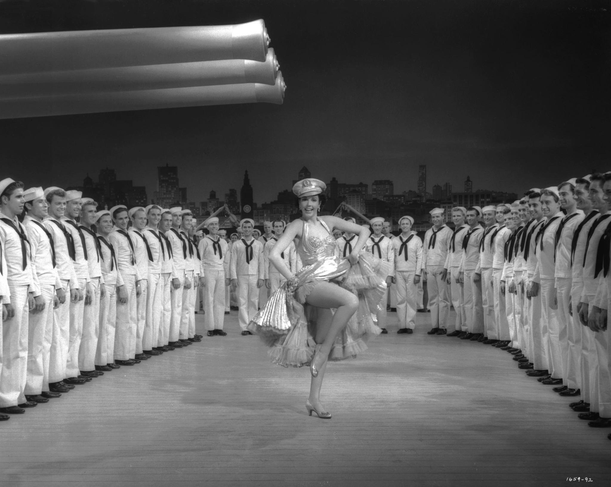 Ann Miller in Hit the Deck (1955)