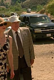Kyra Sedgwick, G.W. Bailey, and Michael Paul Chan in The Closer (2005)