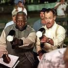 John C. McGinley and Hank Aaron in Summer Catch (2001)