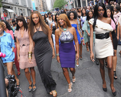 Black model tyra banks confirm. join