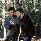 Walter Koenig and George Takei in Star Trek V: The Final Frontier (1989)