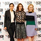 Meryl Streep, Sarah Gavron, and Carey Mulligan at an event for Suffragette (2015)