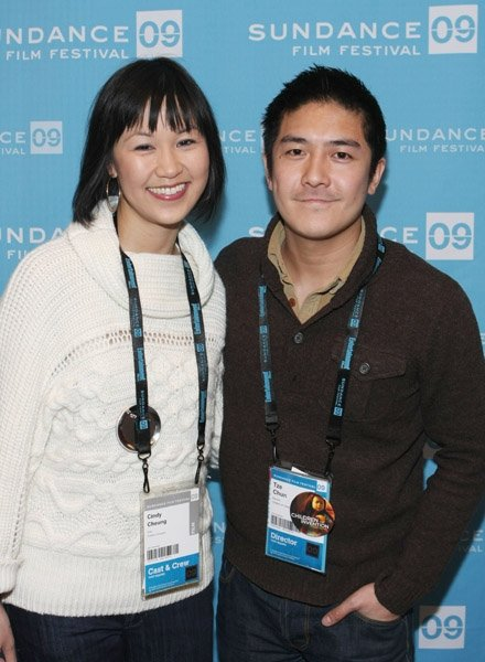 Cindy Cheung and Tze Chun at event of Children of Invention
