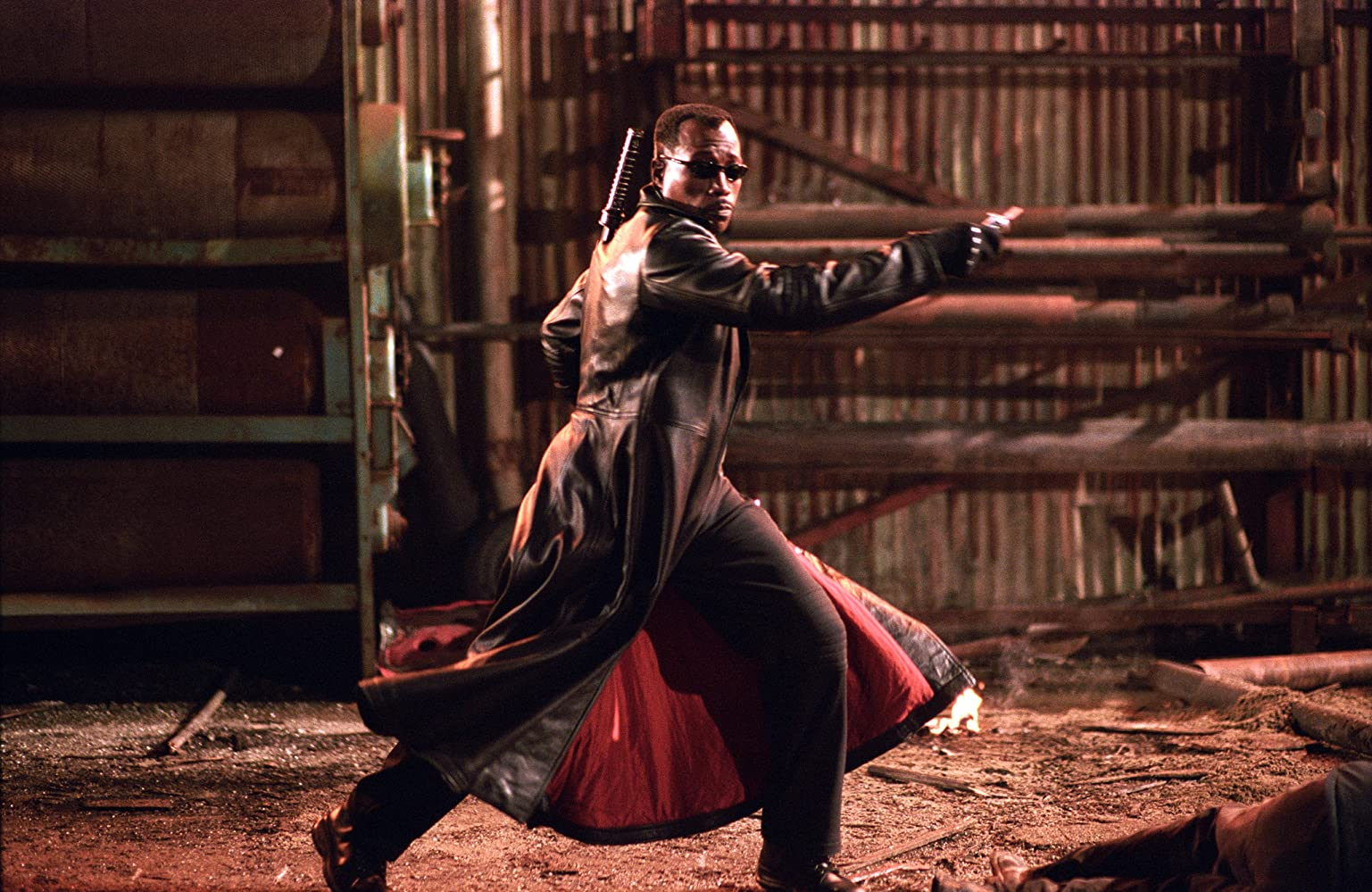 Wesley Snipes in Blade: Trinity (2004)