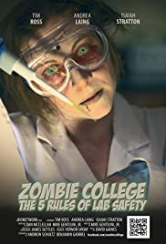 Zombie College: The 5 Rules of Lab Safety Poster
