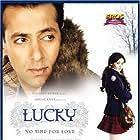 Salman Khan, Sneha Ullal, and Shahrokh Khajenoori in Lucky: No Time for Love (2005)