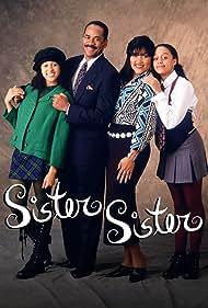Tamera Mowry-Housley, Tim Reid, Jackée Harry, and Tia Mowry-Hardrict in Sister, Sister (1994)