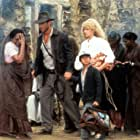Harrison Ford, Kate Capshaw, and Ke Huy Quan in Indiana Jones and the Temple of Doom (1984)