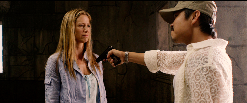 Mira Sorvino and Trieu Tran in Trade of Innocents (2012)