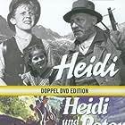Heinrich Gretler, Thomas Klameth, and Elsbeth Sigmund in Heidi (1952)