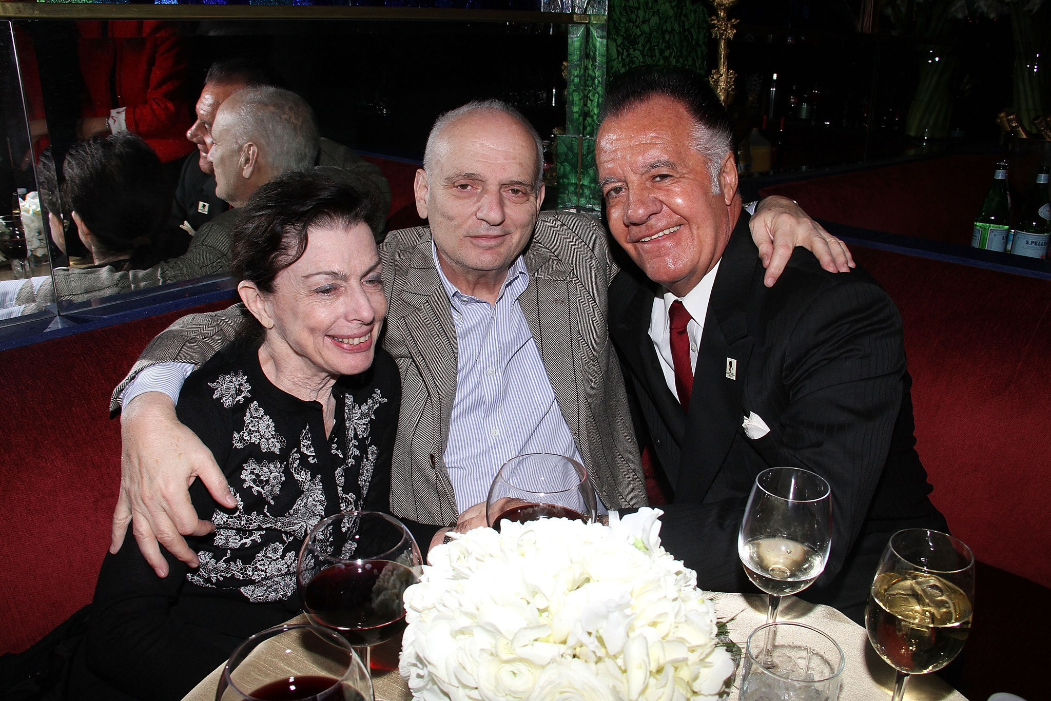 David Chase and Tony Sirico at an event for Lilyhammer (2012)
