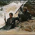 Christian Bale and Steve Zahn in Rescue Dawn (2006)