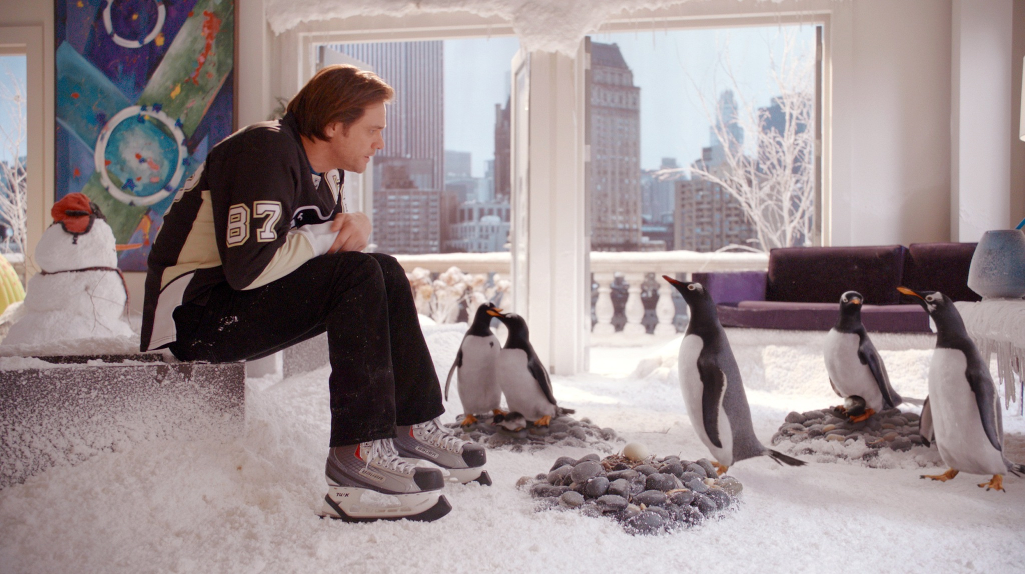 Jim Carrey in Mr. Popper's Penguins (2011)