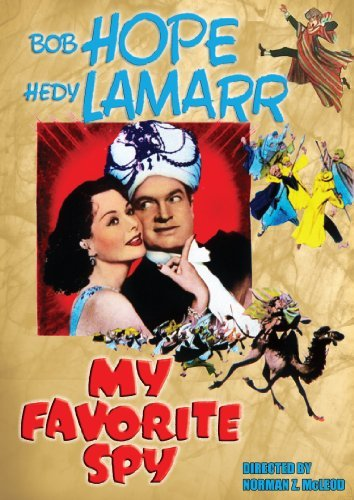 Bob Hope and Hedy Lamarr in My Favorite Spy (1951)