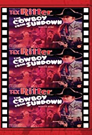 The Cowboy from Sundown Poster