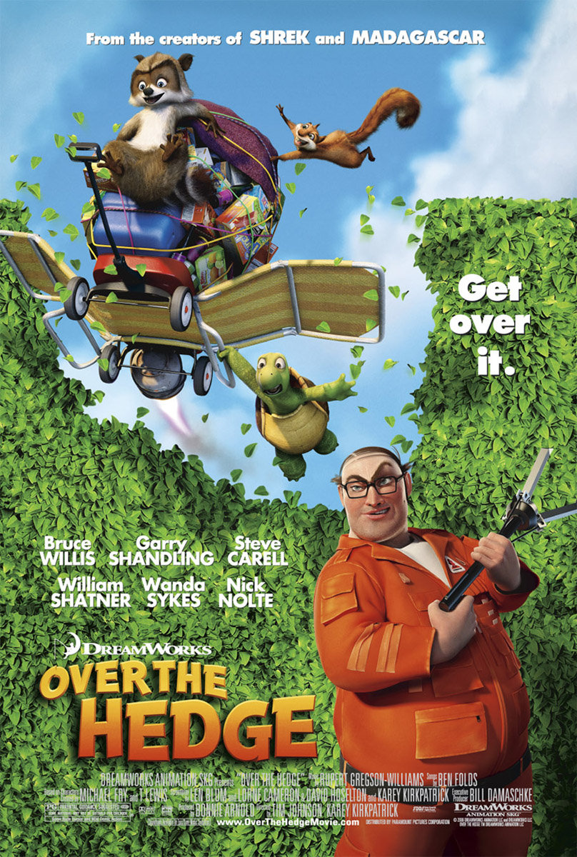 Over the Hedge (2006) BluRay 480p, 720p & 1080p