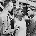 Harry Bellaver, Aldo Ray, and Henry Slate in Miss Sadie Thompson (1953)