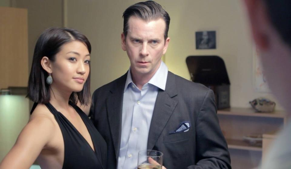 Still from The Rolling Soldier. John Tague and Alisa Allapach
