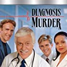 Dick Van Dyke, Victoria Rowell, Charlie Schlatter, and Barry Van Dyke in Diagnosis Murder (1993)