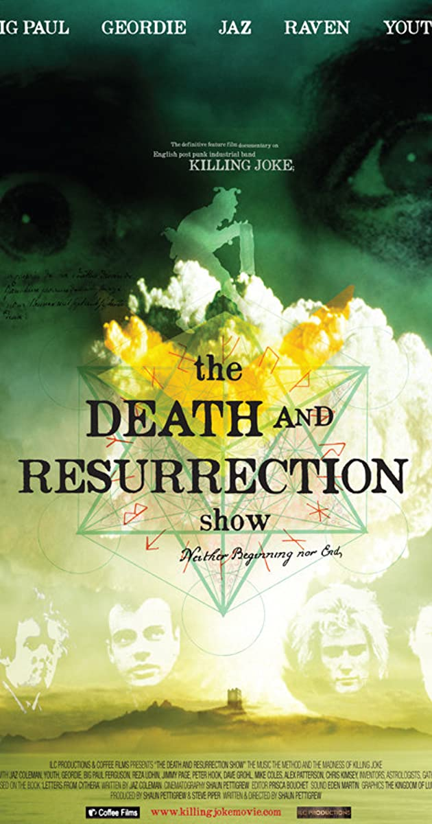 Subtitle of The Death and Resurrection Show