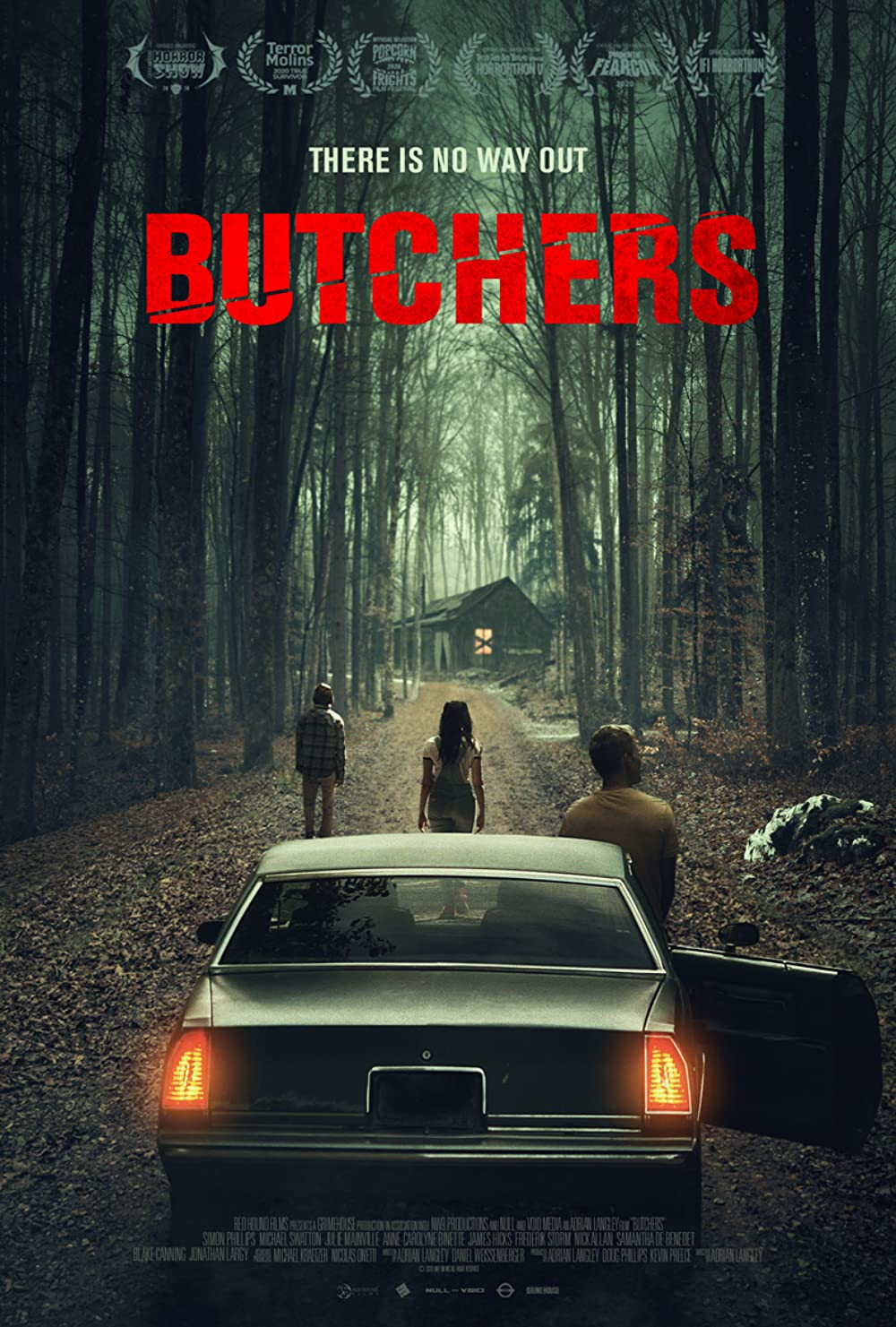 Butchers 2021 English 720p HDRip 800MB | 300MB Download