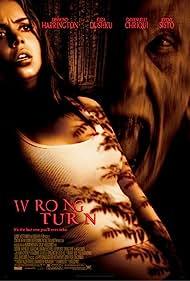 Desmond Harrington and Eliza Dushku in Wrong Turn (2003)