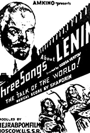 Three Songs About Lenin (1934) Poster - Movie Forum, Cast, Reviews