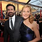 Jon Hamm and Jennifer Westfeldt at an event for 16th Annual Screen Actors Guild Awards (2010)