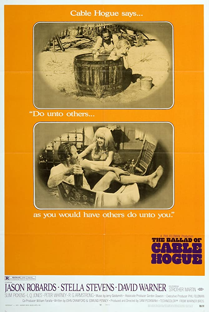 Jason Robards and Stella Stevens in The Ballad of Cable Hogue (1970)