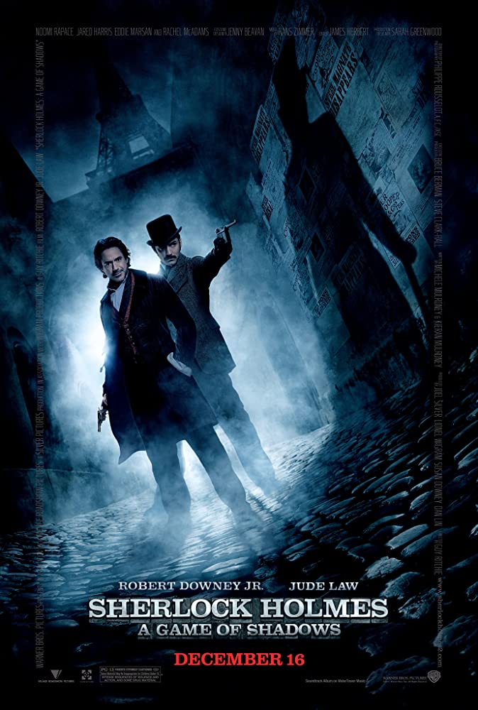 Sherlock Holmes: A Game of Shadows 2011 Hindi Dual Audio 496MB BluRay ESubs Download
