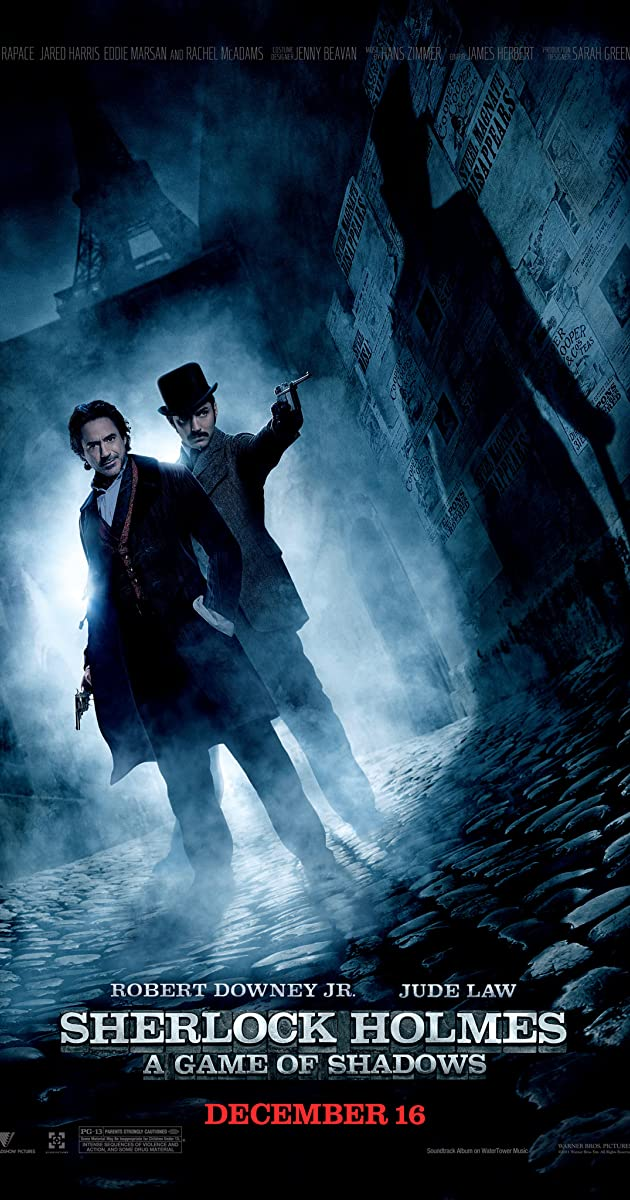 Subtitle of Sherlock Holmes: A Game of Shadows