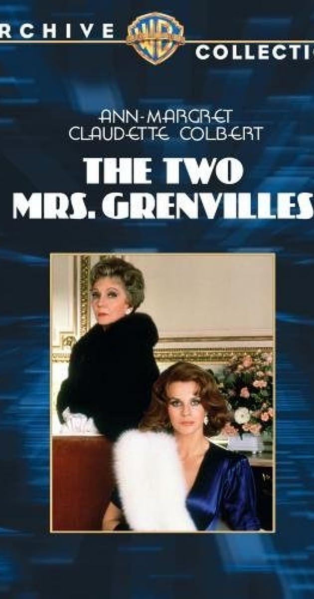 The Two Mrs Grenvilles Tv Mini Series 1987 Imdb