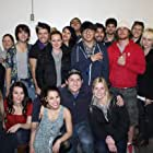 """Cast and crew of """"Kissing School for Losers"""" at production wrap"""