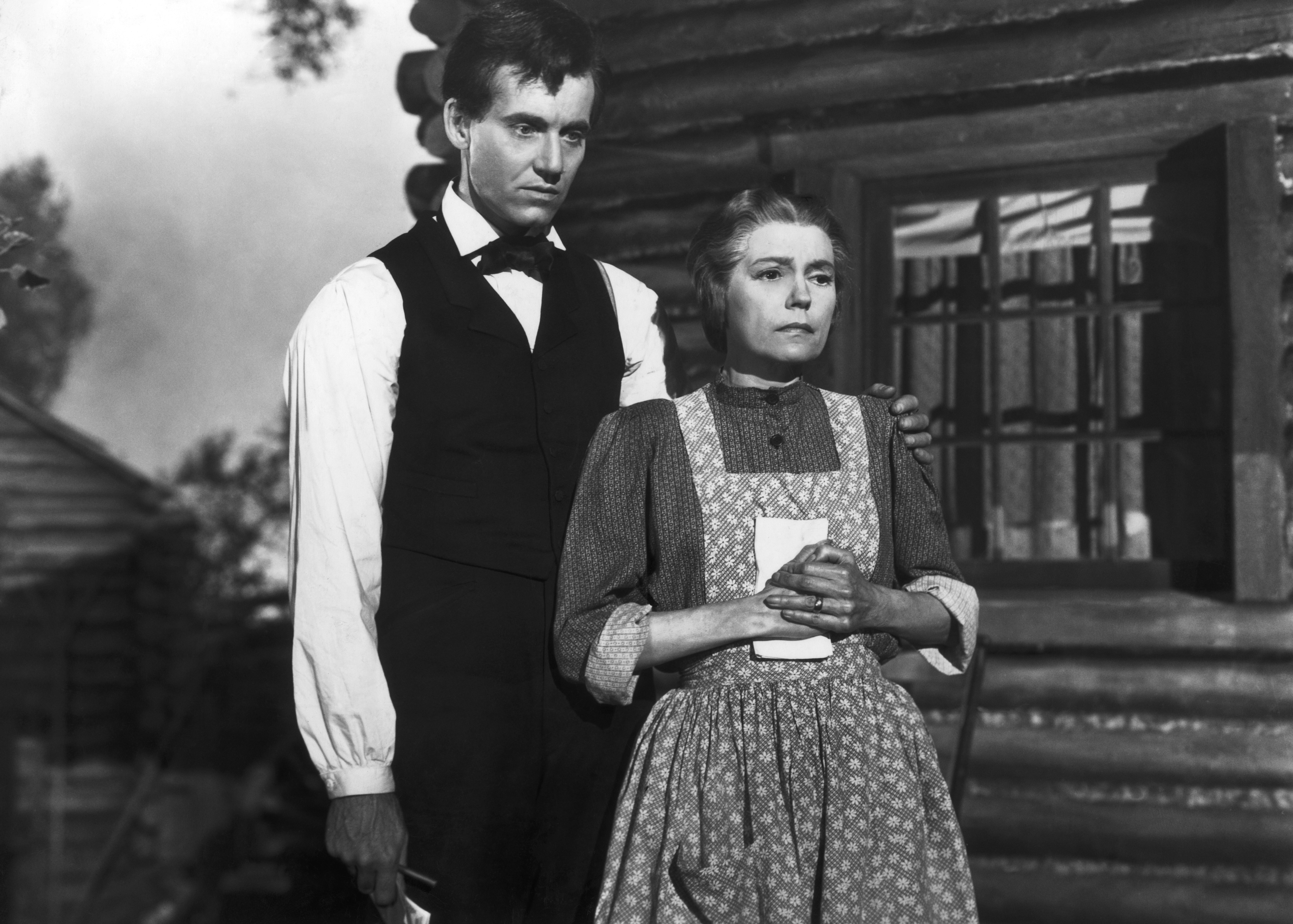 Henry Fonda and Alice Brady in Young Mr. Lincoln (1939)