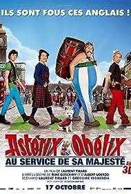 Gérard Depardieu, Edouard Baer, Guillaume Gallienne, and Vincent Lacoste in Astérix & Obélix: Au service de sa Majesté (2012)