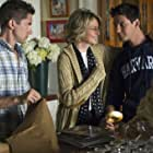 Diane Keaton, Topher Grace, and Ben Barnes in The Big Wedding (2013)